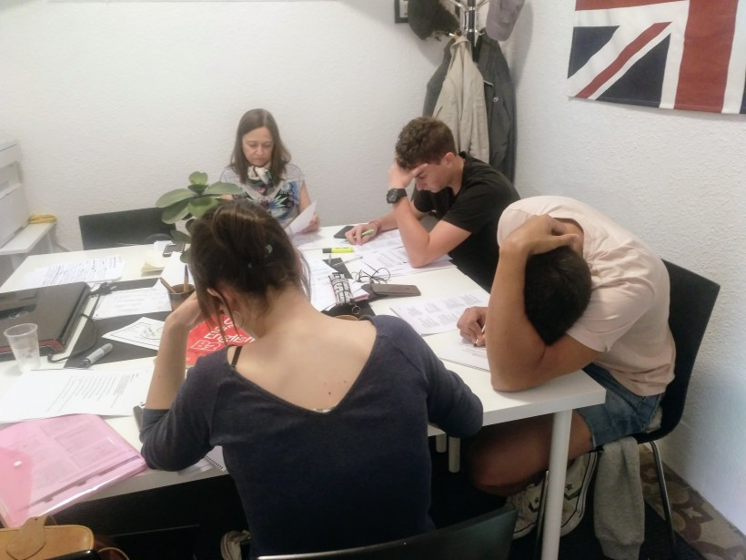 Students-practising-B1-exam